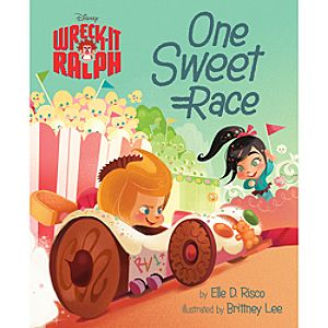Wreck-It Ralph Book - One Sweet Race