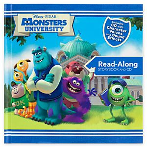 Monsters University Read-Along Storybook and CD