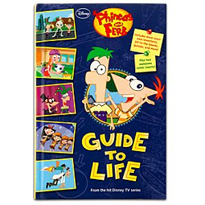 Phineas and Ferbs Guide to Life Book