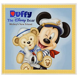 Duffy the Disney Bear Book - ''Mickey's New Friend''