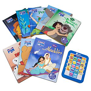 Electronic Reader and 8-Book Library -- Disney Classics