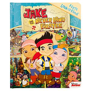 Jake and the Never Land Pirates Look and Find Book