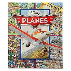 Planes Look and Find Book