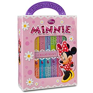 Minnie Mouse Book Block Set -- 12-Pc.