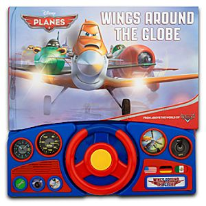 Planes Wings Around the Globe Book with Sound Effects