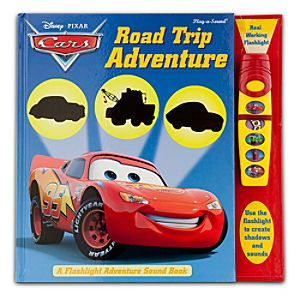 Cars Road Trip Adventure Book with Sound Flashlight
