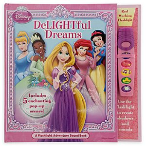Disney Princess Delightful Dreams Book with Sound Flashlight