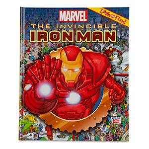 The Invincible Iron Man Look and Find Book