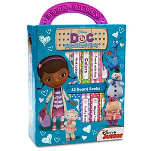 Doc McStuffins Book Block Set