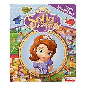 Sofia the First Look and Find Book