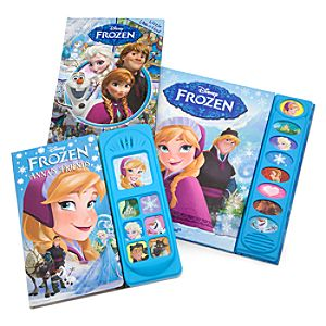 Frozen Read, Look and Play Book Set