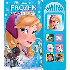 Frozen Annas Friends Play-a-Sound Book