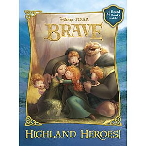 Highland Heroes! Brave Book Set -- 4-Pc.
