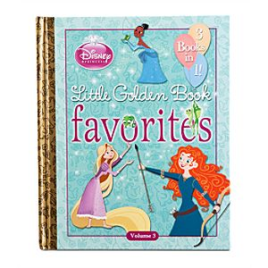 Disney Princess Little Golden Book Favorites Book - Volume 3