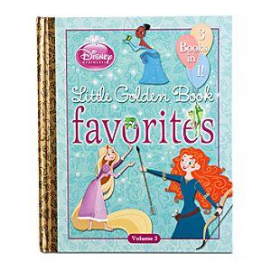 Disney Princess Little Golden Book Favorites Book - Volume 3