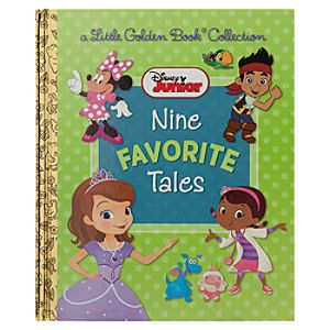 Disney Junior Nine Favorite Tales - Little Golden Book