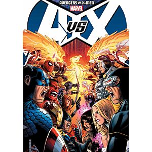 Avengers Vs. X-Men Book