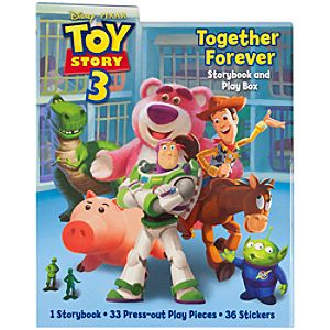 Toy Story 3 Together Forever Storybook and Play Box Set