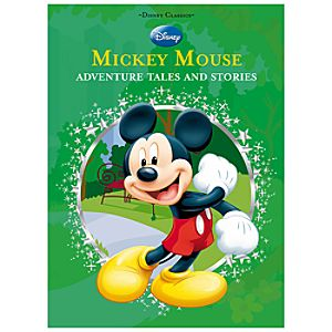 Disney Classics Mickey Mouse: Adventure Tales and Stories Book