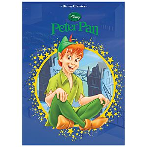 Disney Classics Peter Pan Book