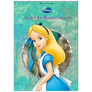 Disney Classics Alice in Wonderland Book