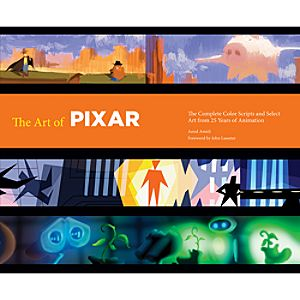 The Art of Pixar Book