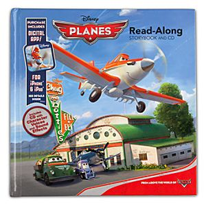 Planes Read-Along Book + CD
