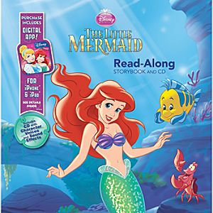 Little Mermaid Read-Along Storybook and CD Set with Digital App