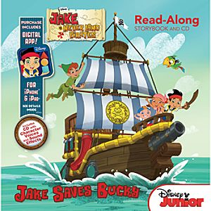 Jake and the Never Land Pirates Read-Along Storybook and CD Set with Digital App