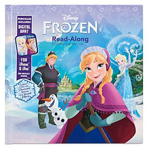 Frozen Read-Along Book with CD and Digital App
