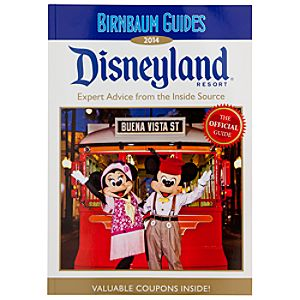 Disneyland Resort Official 2014 Guide Book