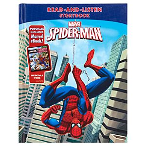 Spider-Man Storybook + Marvel eBook!