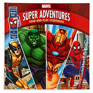 Marvel Super Adventures Read-and-Play Storybook