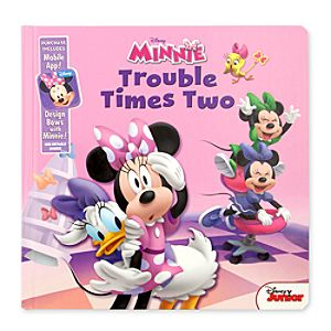 Minnie Mouse: Trouble Times Two Book