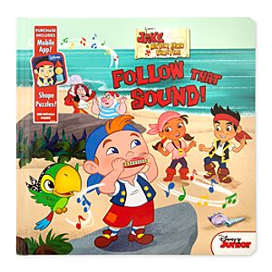 Jake and the Never Land Pirates: Follow That Sound! Book