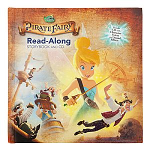 The Pirate Fairy Read-Along Storybook and CD