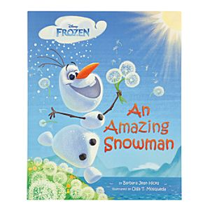 Frozen: An Amazing Snowman Book