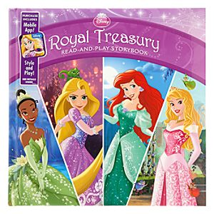 Disney Princess Royal Treasury Read-and-Play Storybook