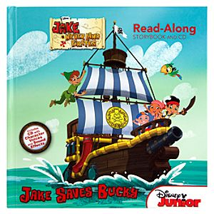 Jake and the Never Land Pirates Read-Along Storybook and CD Set