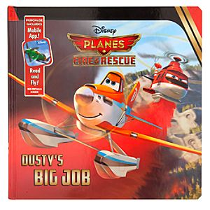 Planes: Fire & Rescue Storybook - Dustys Big Job