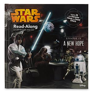 Star Wars Episode IV: A New Hope Read-Along Storybook and CD