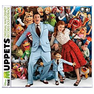 The Muppets Movie Soundtrack CD