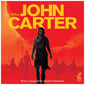 John Carter Soundtrack CD
