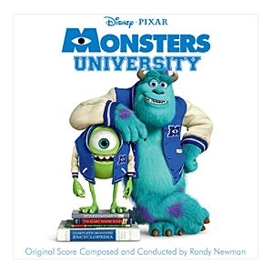 Monsters University Soundtrack CD