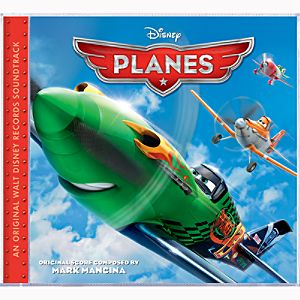 Planes Soundtrack CD