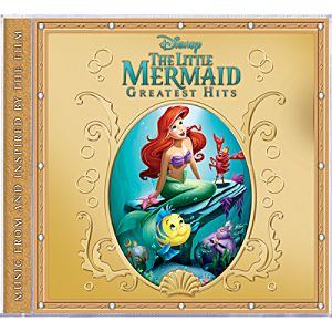 The Little Mermaid Greatest Hits CD