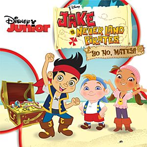 Jake and the Never Land Pirates: Yo Ho, Matey CD