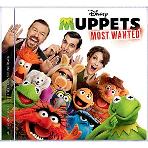 Muppets Most Wanted Soundtrack CD