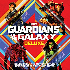 Guardians of the Galaxy Soundtrack CD