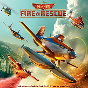 Planes: Fire & Rescue Soundtrack CD